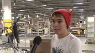 Interviews mit Mitarbeitern des Logistikzentrums in Bad Hersfeld