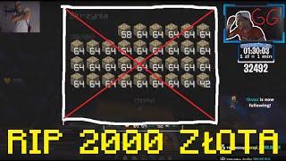JAK STRACIĆ 2000 ZŁOTA W 1 SEKUNDE! *smutek*