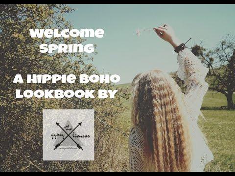 Welcome Spring ❀ Hippie Boho Lookbook