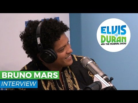 Bruno Mars on New Album '24K Magic' and...
