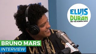 Bruno Mars on New Album '24K Magic' and Joining Lady Gaga at the SuperBowl? | Elvis Duran Show