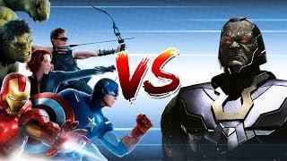 Avengers vs Darkseid: Who Would Win?