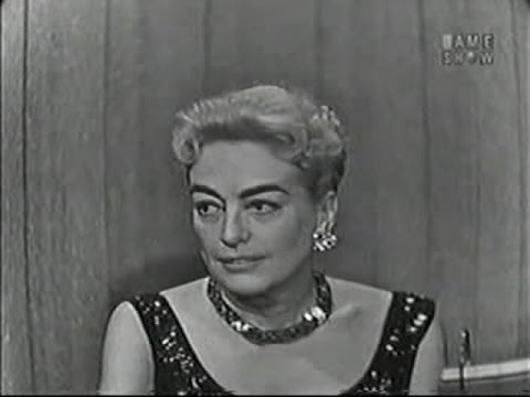 What's My Line? - Edith Young & Phyllis Cerf; Joan Crawford; Peter Ustinov [panel] (Dec 8, 1957)