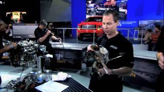 Démontage: Jetez un coup d'œil à l'intérieur du moteur 448AA