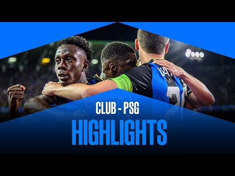 Club Brugge PSG Goals And Highlights