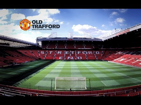Old Trafford Stadium Tour 11.04.2015, the day before the Manchester derby