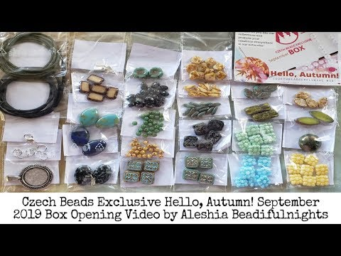 czech-beads-exclusive-hello-autumn-september-2019-box-opening