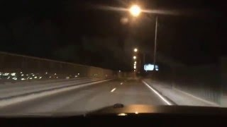 """herding cats"" on Pulaski Skyway (take 622): honda SUV cut-off followed by speeding BMW"