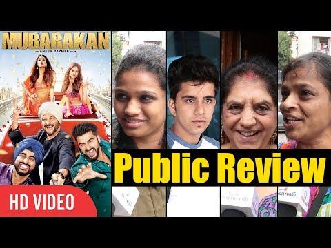 Mubarakan Movie Public Review   First Day First Show   Anil Kapoor, Arjun Kapoor, Ileana D'Cruz
