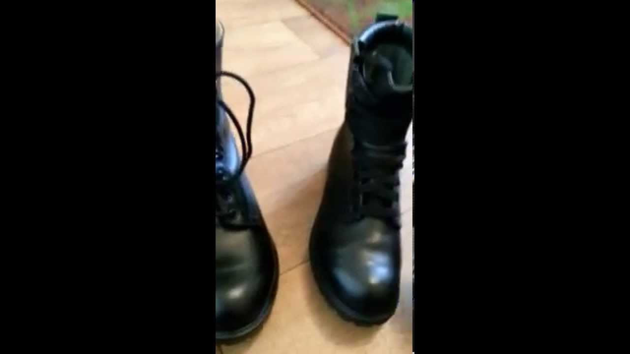 Quick review of army assault boots