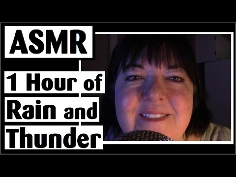 ASMR Rain and Thunderstorm - 1 Hour - No Talking (after intro)