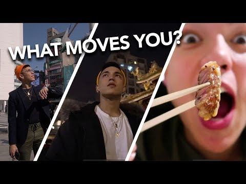 WHAT MOVES YOU? Taipei Travel Vlog