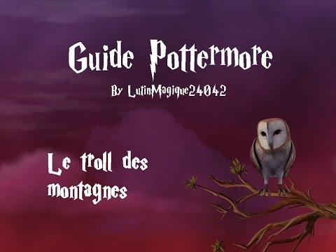 Guide Pottermore // Le troll des montagnes...