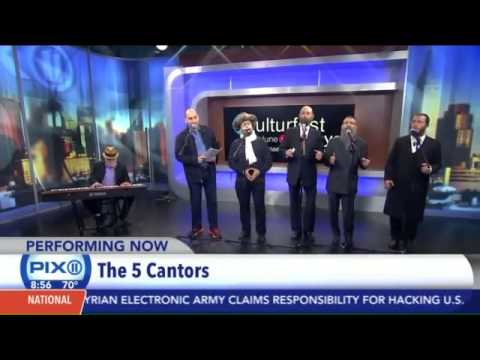 Five Jewish Cantors & Singers Perform New York's PIX11 TV