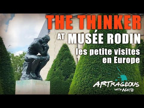 The Thinker at Musée Rodin in Paris: Les Petites Visites en Europe