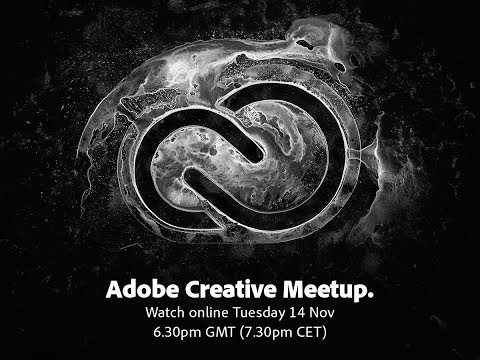 Adobe Creative Meetup UK 2017