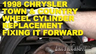 1998 Chrysler Town & Country Wheel Cylinder Replacement -Fixing It Forward