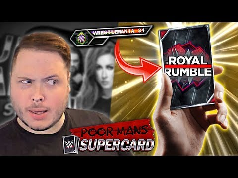 HOW DID THIS HAPPEN?! Free Fusions Are The BEST!   Poor Man's WWE SuperCard #2