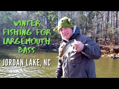 Winter Bass Fishing On Jordan Lake In NC (Episode 13 - 2019)