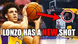 How Lonzo Ball's NEW Shot CHANGES The Lakers In The NBA (Ft. A Lot Of Bricks)