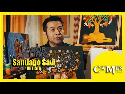 Santiago Savi retrata sus raíces ñuu savi en coloridas creaciones