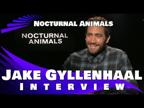 Jake Gyllenhaal Interview - NOCTURNAL ANIMALS