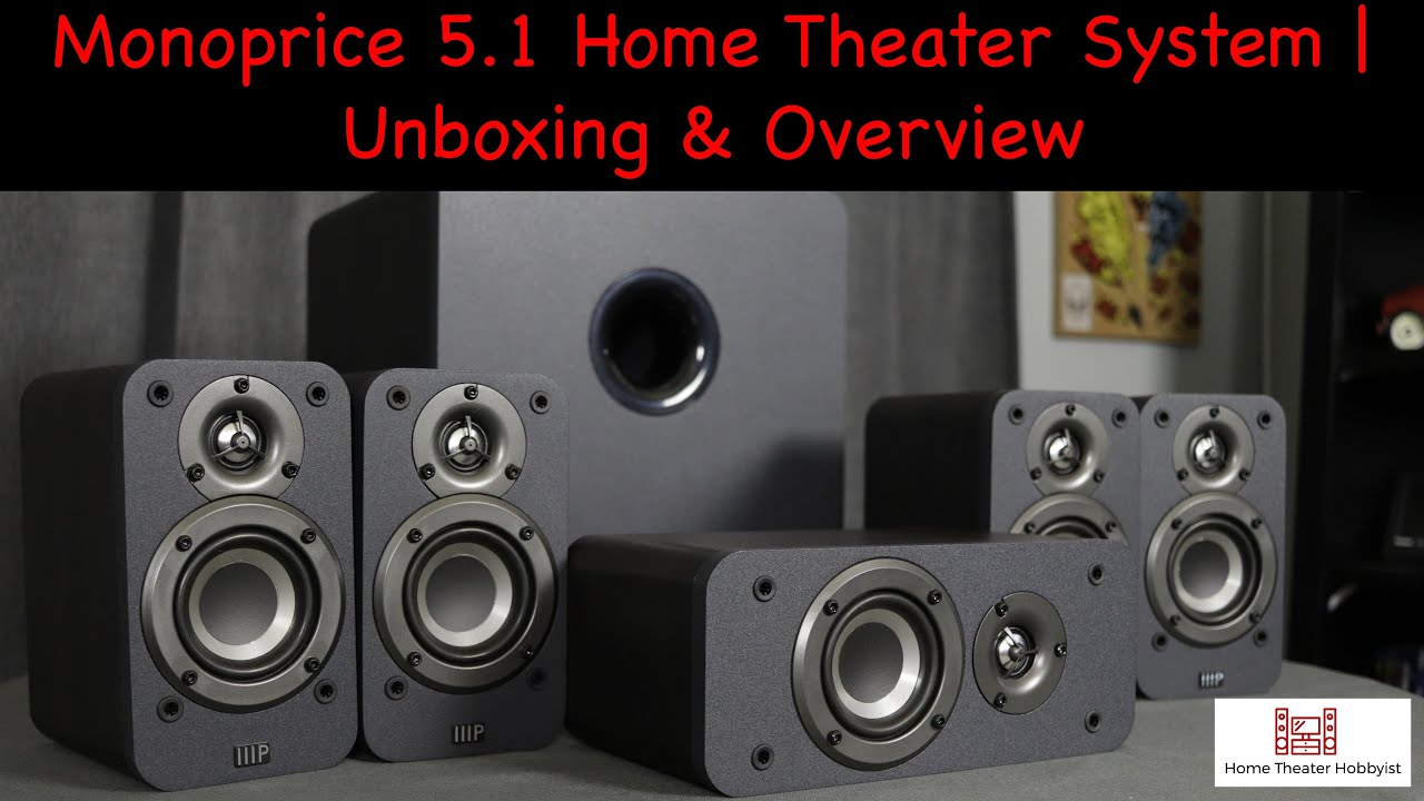Monoprice HT-35 5.1 Home Theater System | Unboxing & Overview