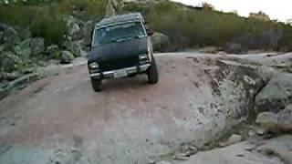 Octavio's Cherokee down slope, RAATT