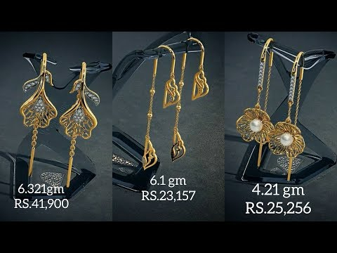 Gold Sui Dhaga Earrings With Price By Bluestone Action News Abc