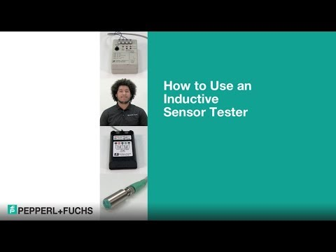 How to Use an Inductive Sensor Tester