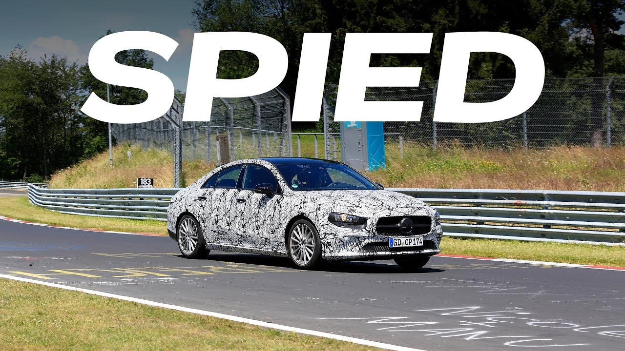 2019 Mercedes Benz Cla Spy Video Youtube