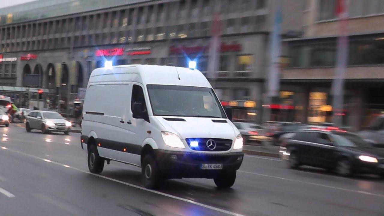 Cobra 11 Auto >> [SELTEN!!!] SEK Polizei Baden-Württenberg in Stuttgart auf Einsatzfahrt (HD) - YouTube