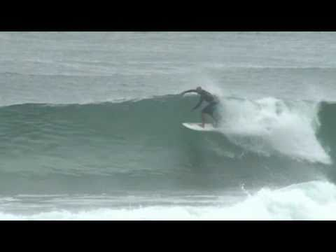 KELLY SLATER free-surfing Duranbah Beach, NSW today