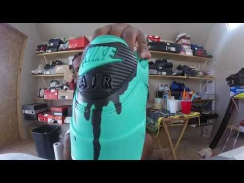 Custom Nike Air Max 90 Bruh + Time Lapse