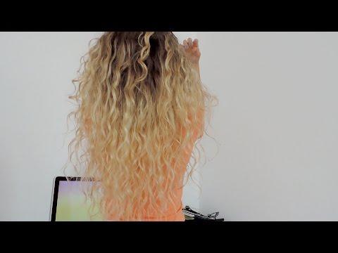 Как уложить вьющиеся/непослушные волосы за  10 минут