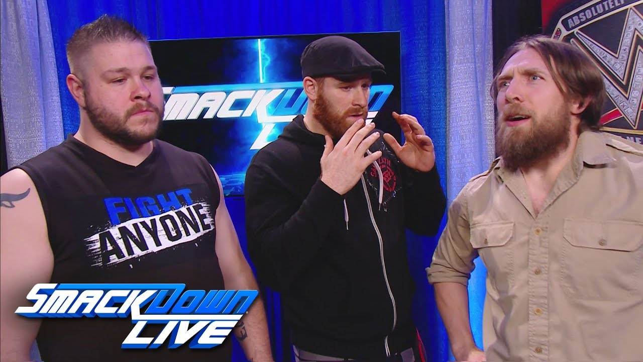 Daniel Bryan throws a wrench in the plans of Kevin Owens & Sami Zayn: SmackDown LIVE, Jan. 30, 2018