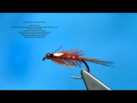 Tying the Brown Organza Traffic Light Diawl Bach by Davie McPhai