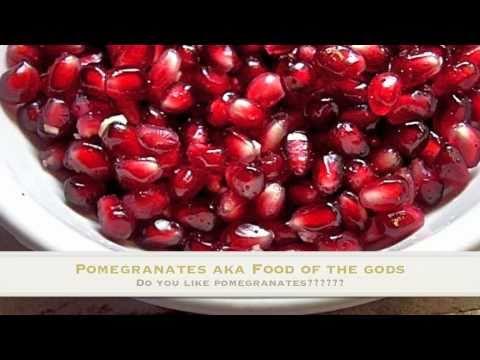 How To Eat Pomegranates