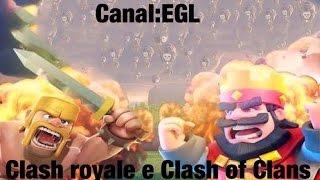 Nosso clã no Clash Royale e no Clash of Clans