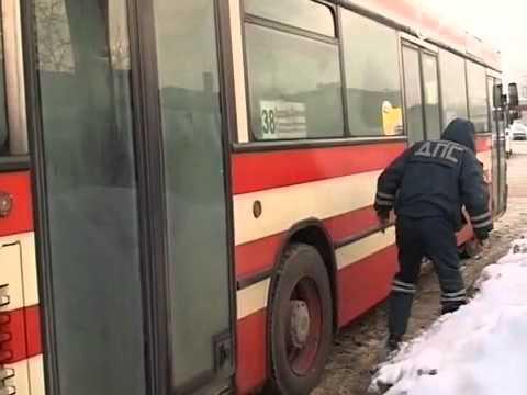 Серия аварий с участием автобусов в Череповце