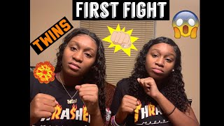 FIRST FIGHT || Story Time || (TWIN EDITION)