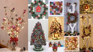 10 Christmas decoration ideas with pine cones