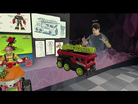 Spatial and Mattel Announce Partnership During Microsoft Hololens 2 Keynote
