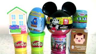 Peppa Pig Surprise | Play Doh Surprise | Mickey 90 years of Magic