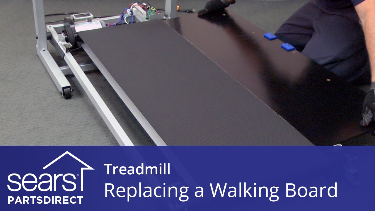 How to Replace a Treadmill Walking Board - YouTube