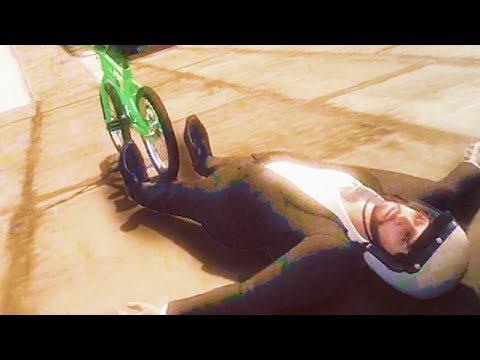 GTA 5 Funny Moments - Suicidal BMX Stunts (GTA V Online Gameplay)