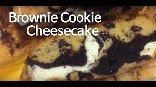 brownie cheesecake cookie dough