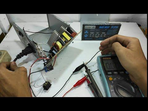 Membuat PSU Komputer Menjadi 24 Volt Bisa Juga 12 Volt