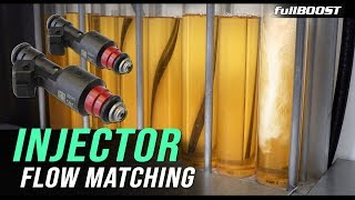 The importance of fuel injector flow matching | fullBOOST