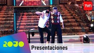 Ernesto Bravo y Hernán Arcil bailaron